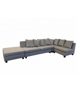 Lounge Deals -  Alabama Chaise Sofa with Ottoman