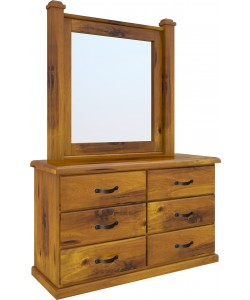 Jamaica Dressing Table With Mirror