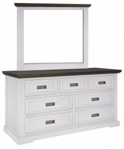 Paris Dressing Table With Mirror