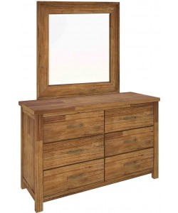 New Age Low Chest  / Dressing Table With Mirror