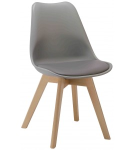 Boston Dining Chair PP Grey