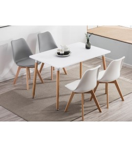 Dining Set Deals - Boston 1.2M Table & 4 PP Chairs