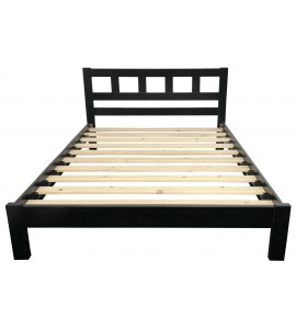 Lucia King Bed Black Color